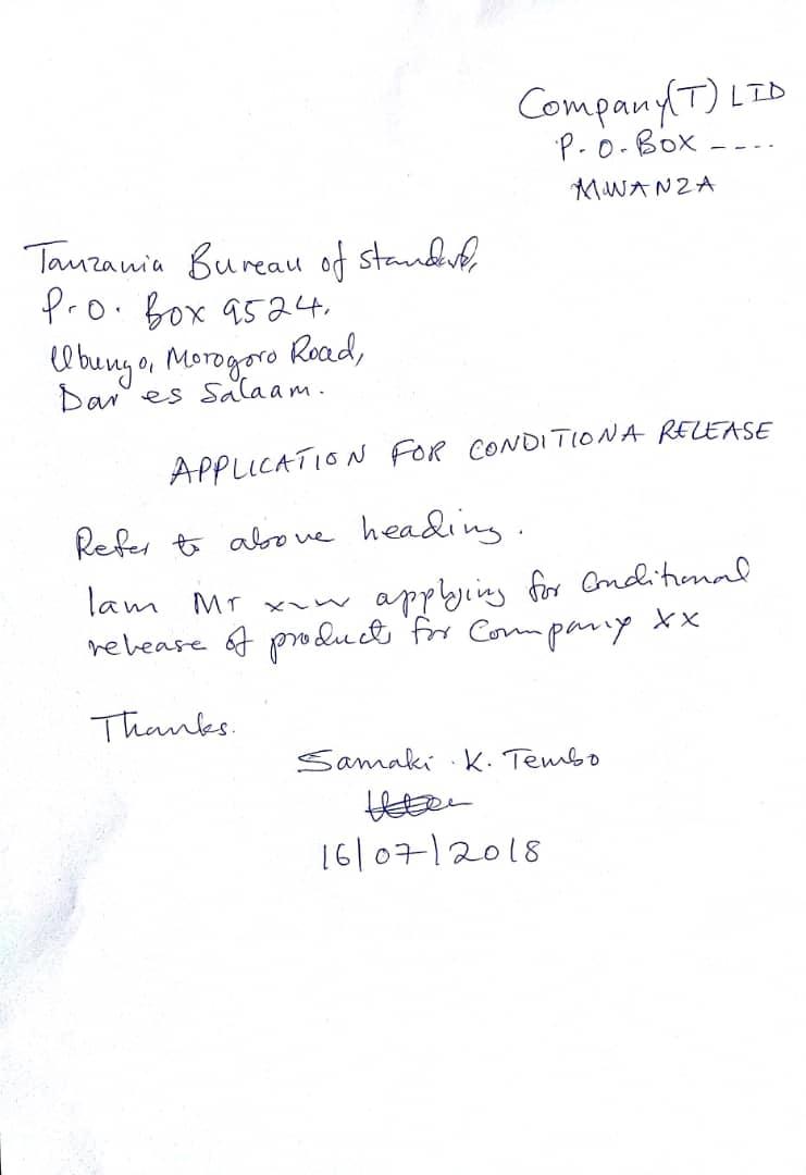 (TBS) import batch certificate